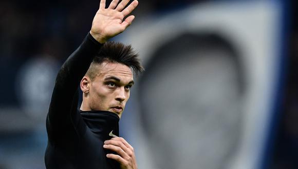 Lautaro Martínez llegó al Inter de Milán procedente de Racing Club. (Foto: AFP)