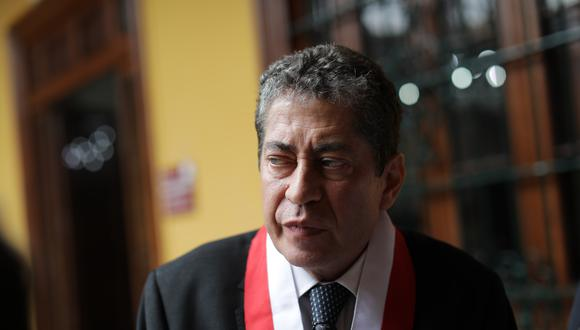 El magistrado del TC habría copiado la tesis de maestría de su exasesor en más de una ocasión. (Foto: Anthony Niño de Guzmán/GEC)
