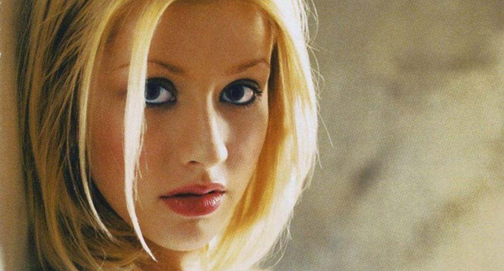 Christina Aguilera en la portada del disco de 1999. (Fuente: Difusión)