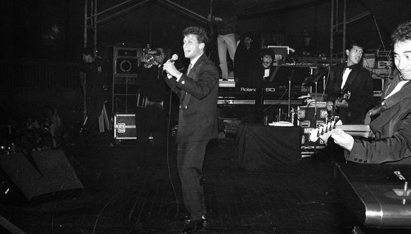 Luis Miguel en Lima, el año 1991. (Foto: Archivo histórico de El Comercio)
