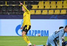 Erling Haaland se convierte en el jugador más joven en anotar 15 goles en Champions League