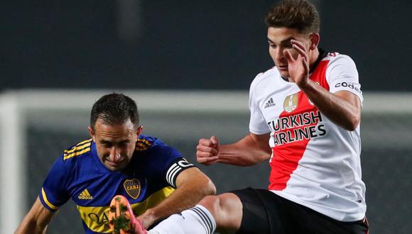 Boca Juniors venció a River Plate por penales en los octavos de final de la Copa Argentina 2021 | Foto: AFP.