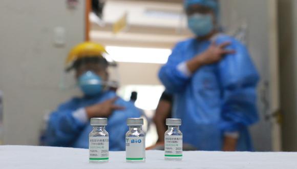 La cantidad de personas vacunadas sigue subiendo. (Foto: Minsa)