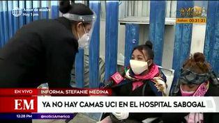 Familiares piden camas UCI y traslados para pacientes del Hospital Sabogal