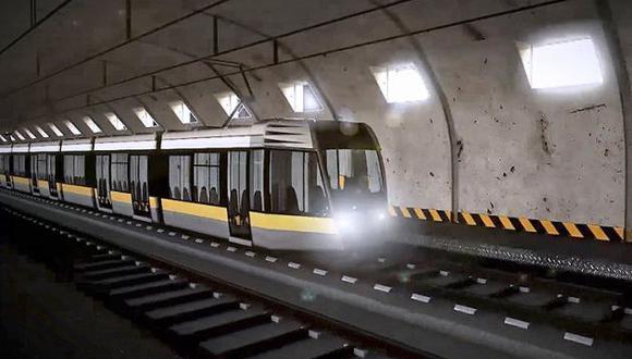 En el caso de las líneas 3 y 4 del metro, cuya viabilidad aún está siendo analizada por la Autoridad de Transporte Urbano de Lima y El Callao (ATU), el mandatario indicó que la inversión asciende a S/10.000 millones, aunque el estimado anterior de Proinversión -que antes tenía en cartera las obras- ascendía a US$10.800 para ambos proyectos.  (Foto: Difusión)