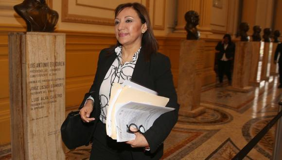 La exprocuradora Julia Príncipe aspiraba al Congreso por Lima con el número 1 por Avanza País. Renunció a su postulación por motivos personales y de salud el 10 de febrero. Pese a ya no ser candidata, recibió más de 36 mil votos. (Foto: Archivo El Comercio)