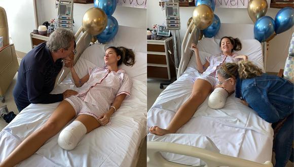 Daniella Álvarez, exMiss Colombia, revela cómo camina tras amputación de su pierna  (Foto: Instagram)