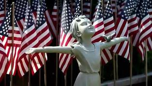 Massachusetts: más de 8000 banderas conmemoran a los fallecidos por COVID-19