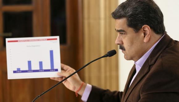 Nicolás Maduro decretó la cuarentena en Venezuela para frenar el avance del coronavirus. (EFE).