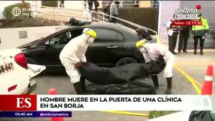 San Borja: hombre fallece dentro de un auto afuera de una clínica
