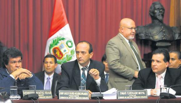 En abril del 2015, la Comisión de Justicia del Congreso archivó definitivamente el proyecto de ley de Carlos Bruce sobre la unión civil. (Dante Piaggio / Archivo El Comercio)