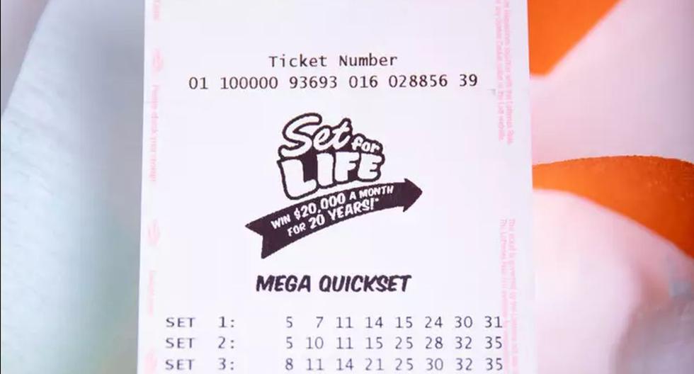 La persona de unos 20 años de edad aproximadamente, ganó 3.1 millones de dólares luego de jugar la lotería.  (Foto: Referencial)