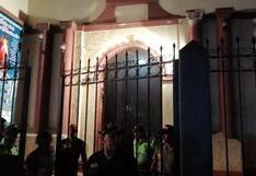 Huánuco: techo de iglesia se desprende y deja tres heridos durante Jueves Santo
