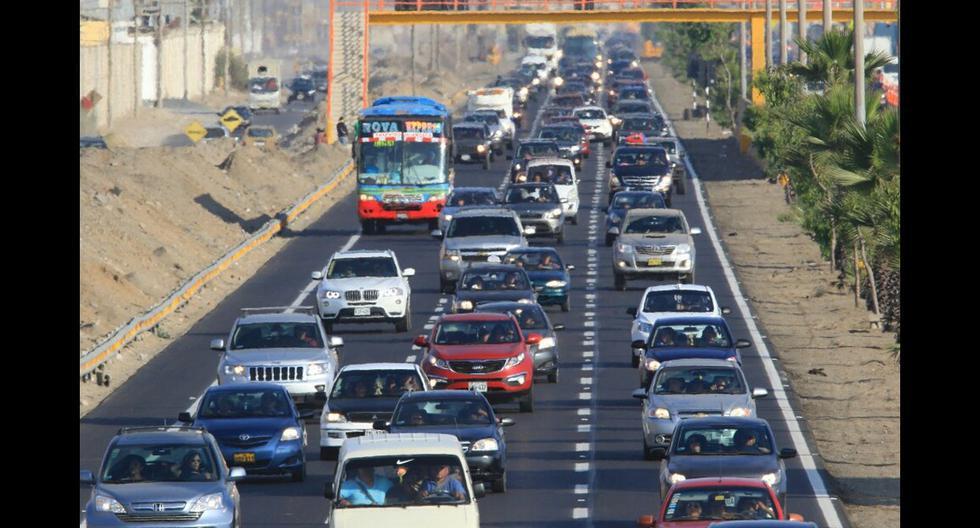 Ositrán: Estas son las carreteras con más tránsito a marzo - 1