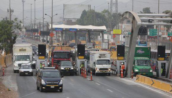 Peaje en Puente Piedra: Suspenden el cobro por 30 días