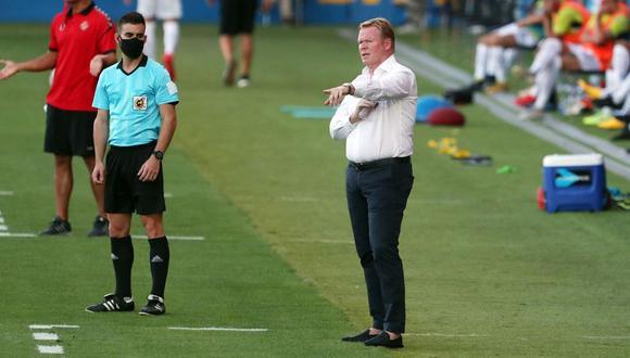 Ronald Koeman dejó a la selección de Holanda para llegar al cuadro catalán. (Foto: FC Barcelona)