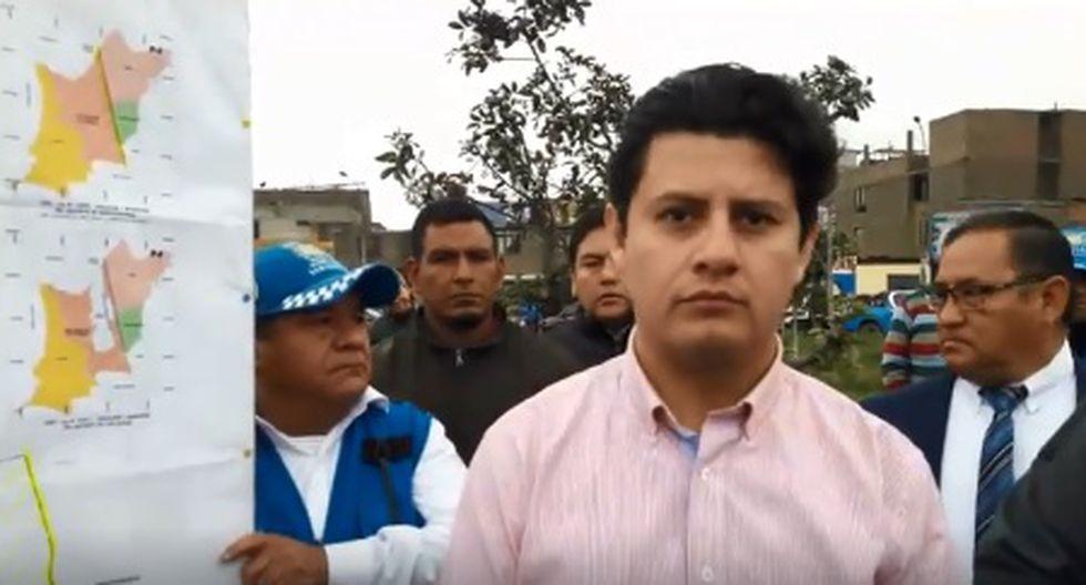Julio Chávez, alcalde de SMP, plantea una consulta vecinal para que los ciudadanos de la zona en conflicto decidan a qué distrito quieren pertenecer. (Foto: El Comercio)