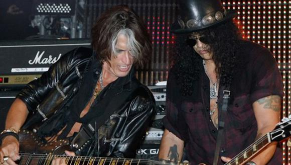 ¿Guns N' Roses asistirán al concierto de Aerosmith en Lima?