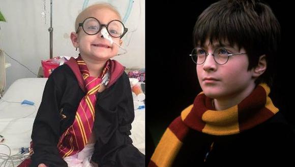 México | Muere Gisel García Fomperoda, más conocida como Gigi, la niña con cáncer que recibió saludos del actor Daniel Radcliffe, quien interpreta a Harry Potter. (El Universal de México / AP)