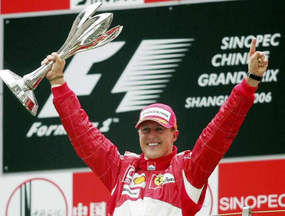 La leyenda de la Fórmula 1 cumple 50 años y ha sido ovacionado por todo el mundo. Como se recuerda, el alemán ganó siete títulos de campeón mundial y 91 Grandes Premios | Foto: AP