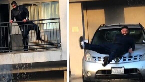 Un curioso hecho registrado en un alojamiento de Los Angeles se convirtió en lo más visto en las redes sociales. (Foto: Terry Mcginnis-Prophet AmenRa en Facebook)