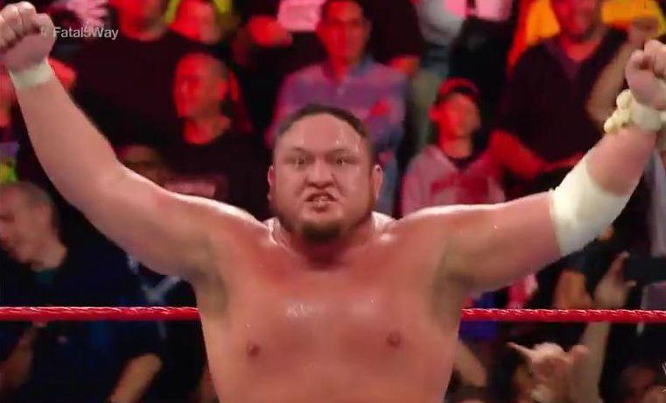 Samoa Joe ganó la pelea principal de Extreme Rules y se medirá ante Brock Lesnar. (Foto: WWE)