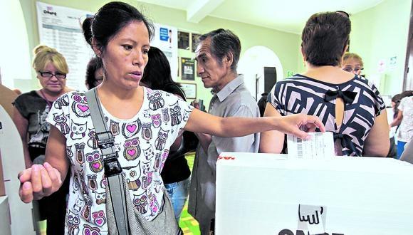 Durante la jornada, más de 24 millones de votantes elegirán a 130 congresistas (Foto: GEC)