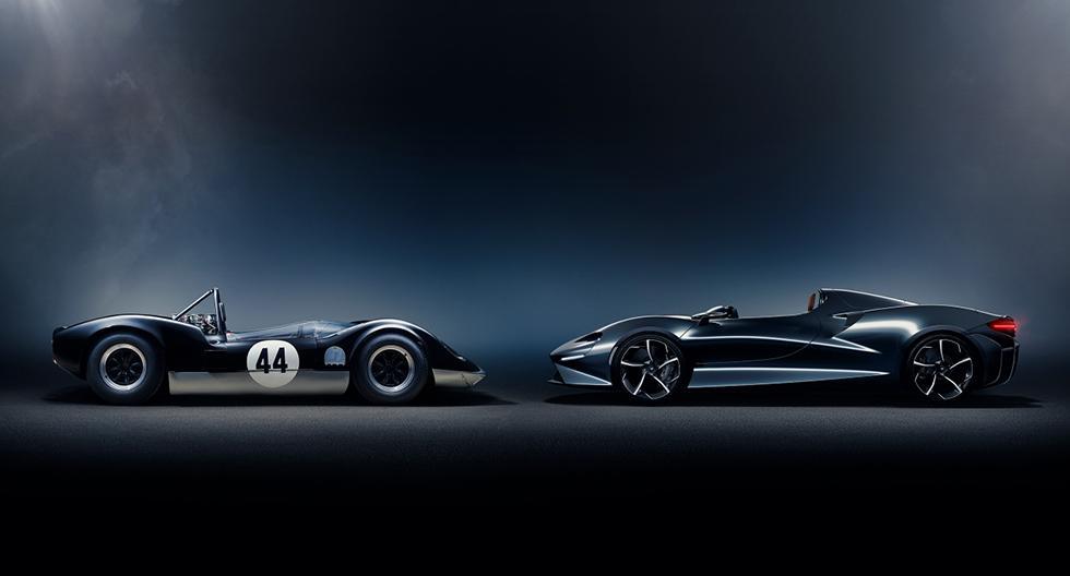 El modelo celebra los deportivos McLaren-Elva de 1960 diseñados por Bruce McLaren. (Foto: McLaren Automotive)
