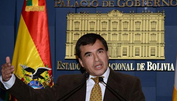 Juan Ramón Quintana era el ministro de Presidencia de Evo Morales. (Getty Images).