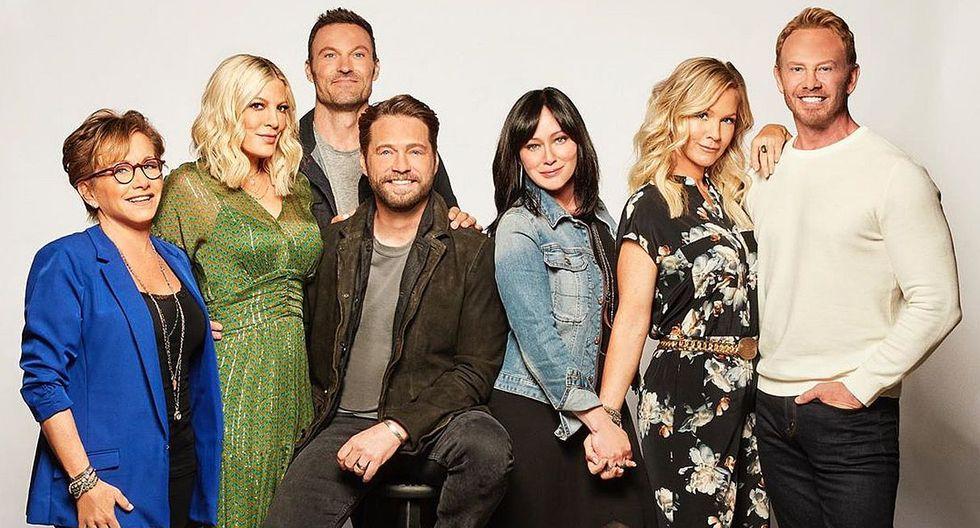 """Beverly Hills 90210"" rindió un merecido homenaje al actor Luke Perry. (Foto: @beverlyhills90210)"