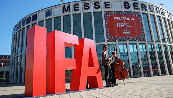Exterior de la feria de tecnología IFA de Berlín. (Foto: MESSE BERLIN GMBH)