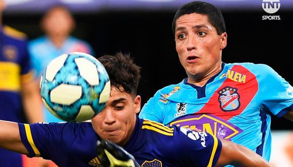 Boca Juniors empató 1-1 con Arsenal en la Copa Diego Maradona | Foto: TNT Sports