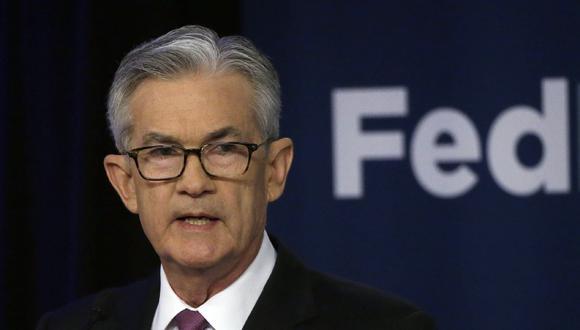 Jerome Powell, presidente de la FED. (AP Photo/Kiichiro Sato, File)