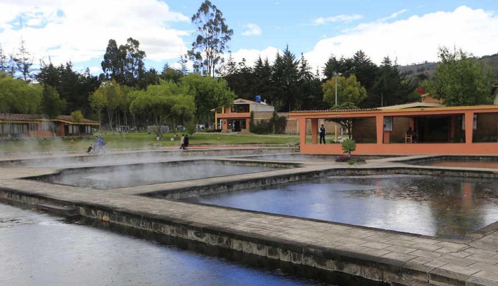 Baños del Inca, Cajamarca. Situado a 6 kilómetros de la ciudad Cajamarca, estos  baños termales son considerados  los más populares del Perú, ya que según cronistas fueron usados por el inca Atahualpa. Sus aguas termales se caracterizan por combinar historia y propiedades medicinales. (Foto: Lino Chipana / El Comercio)
