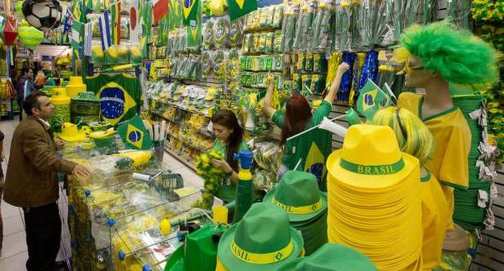 Brasil: las ventas en el Mundial, fuera del 'FIFA market' - 2