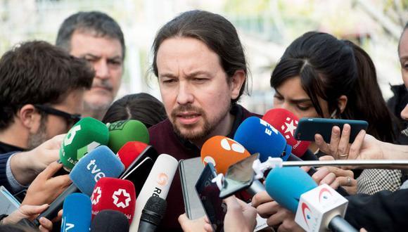 Elecciones en España: Pablo Iglesias, formará gobierno de coalición de izquierdas. (AFP)