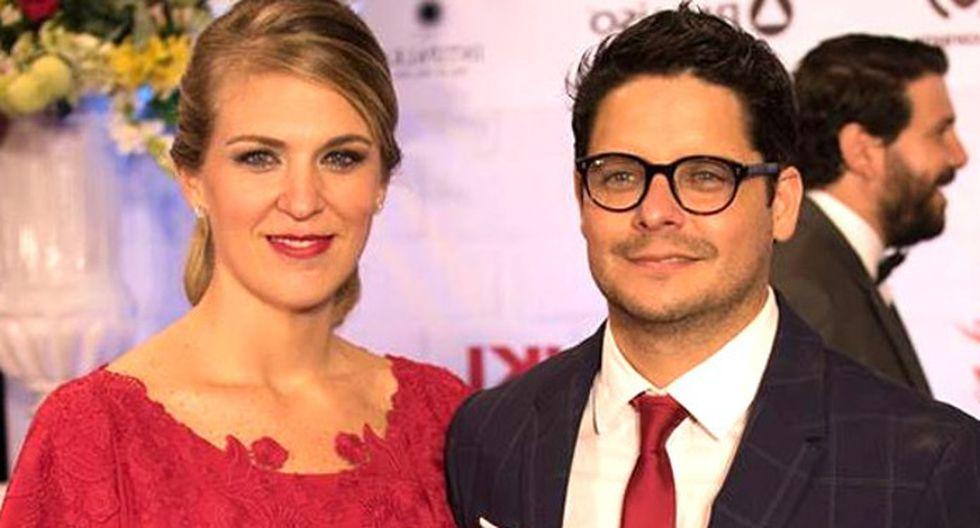 Gian Piero Diaz y su esposa Borka.