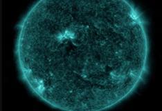 Una erupción solar alcanzó la Tierra este mes