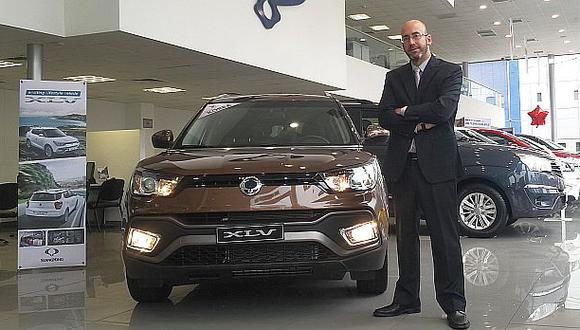 Coreana SsangYong busca crecer el segmento de vehículos SUV