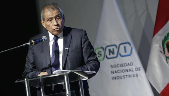 """""""Lo decimos los empresarios en la interna y no tengo ningún rubor en decirlo. [...] El señor Joo no nos representa a los empresarios"""", señaló Ricardo Márquez. (Foto: GEC)"""