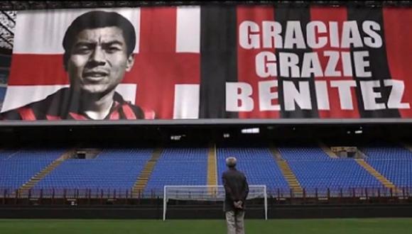 Benítez no solo fue ídolo en el AC Milan, también tuvo actuaciones destacadas con la selección peruana en  la Copa América de 1957 y 1959, (Foto: AC Milan)