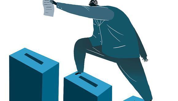 Por ahora, la carrera por las elecciones presidenciales hacia el 11 de abril cuenta con 20 participantes. (Ilustración: Víctor Aguilar)