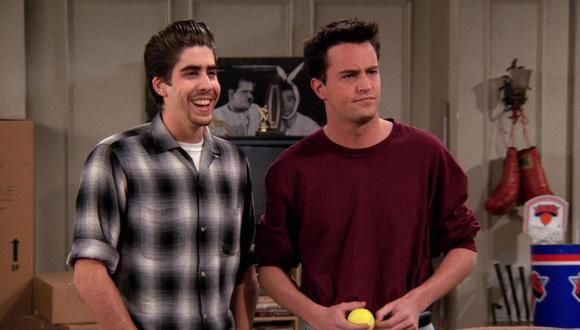 Chandler tuvo otro compañero de cuarto llamado Eddie Menuek (Foto: NBC)