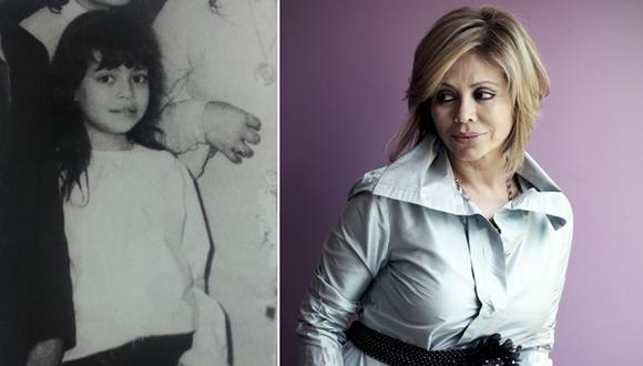 Gisela Valcárcel compartió tierna fotografía de su infancia