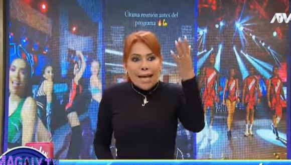 """Magaly Medina sobre desempeño de EEG ante Guerreros MX: """"Los humillaron"""". (Foto: captura de video)"""