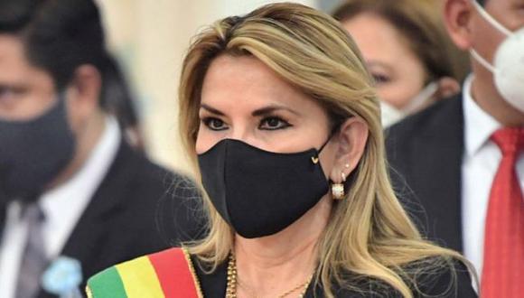 Jeanine Áñez preside Bolivia desde noviembre del año pasado. (ABI).