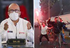 Liga 1: Víctor Zamora pidió la suspensión del torneo tras aglomeración en las calles de los hinchas de Universitario