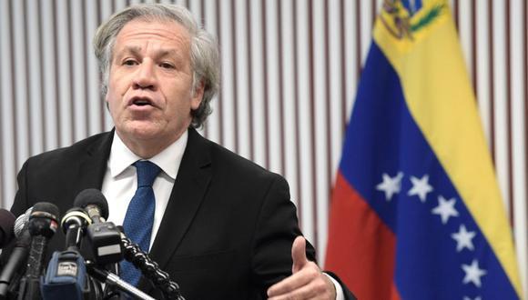 """Luis Almagro: """"Nadie está planificando ninguna invasión"""" en Venezuela. (EFE)"""