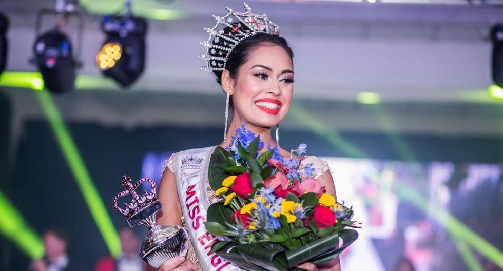 Bhasha Mukherjee ganó el Miss Inglaterra en el 2019. (Foto: AFP)