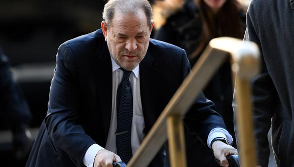 Harvey Weinstein sobrevive al COVID-19 y ahora está bajo vigilancia. (Foto: AFP)